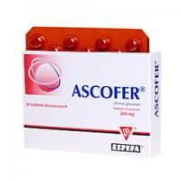 ASCOFER  // 23.2 mg jonow zelaza (II) // 50 tabletek powlekanych
