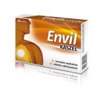 ENVIL KASZEL // Rozrzedza wydzieline, ulatwia odkrztuszanie  // 20 tabletek