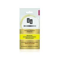 AA Maseczka przeciwzmarszczkowo-odbudowujaca / Ekstrakt z mikroalg, biopeptydy / 0% alergenow, parabenow,barwnikow