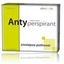 ANTY-PERSPIRANT Alterbiotic Suplement diety zmniejsza potliwosc