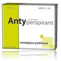 ANTYPERSPIRANT Alterbiotic Suplement diety // nadmierna potliwosc ciala // 30 tab.