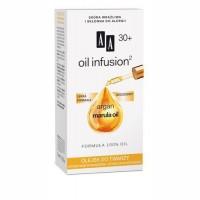 AA Oil infusion 30+ OLEJEK DO TWARZY // Argan, marula oil / formula 100% oil / Lekka formula,biozgodny