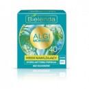 Bielenda ALGI MORSKIE // KREM NAWILZAJACY 40+ // Hydro-aktywnaa formula, bez silikonow, dzien/noc