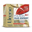 Lirene FOLACIN 50+ DUO EXPERT // Laser lifting anti-wrinkle day&night cream