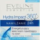 Eveline Hydra Impact 360 NAWILZANIE 24h // Energetyzujacy lekki krem nawilzajacy na dzien // Cera normalna i mieszana