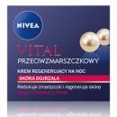 Nivea VITAL // Przeciwzmarszczkowy krem regenerujacy na noc // Skora dojrzala
