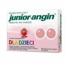 Junior-Angin-tabletki na gardlo dla dzieci o smaku truskawkowym