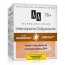 AA TW Intensywne Odzywianie 70+ Krem intensywnie wzmacniajacy 24h // Olej Arganowy, Omega 3+6