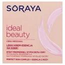Soraya Ideal Beauty // Lekki Krem-Esencja na dzien// Efekt promiennej, wypoczetej cery //  Cera mieszana