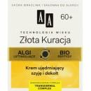 AA TW Zlota Kuracja 60+ Krem ujedrniajacy szyje i dekolt /Algi liftingujace, bio peptydy /skora wrazliwa i sklonna do alergii