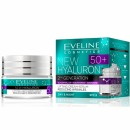 Eveline New Hyaluron 50+  // Second Generation // Lifting cream -serum reducing wrinkles /SPF 8/ Day and night
