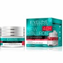 Eveline New Hyaluron 40+ //Second Generation // Firming wrinkle filler cream / SPF 8/ Day and night