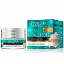 Eveline New Hyaluron 60+ // Second Generation // Concentrated cream restoring skin density // SPF 8 / Day and night