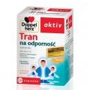 DOPPELHERZ AKTIV TRAN NA ODPORNOSC dla dzieci i doroslych/Tran z wit. A+D,skladniki wspomagajace odpornosc i przyswajanie wapnia