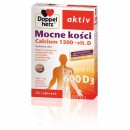 DOPPELHERZ AKTIV MOCNE KOSCI calcium 1500+vit .D Niezbedne dla utrzymania prawidlowego stanu kosci // 30tab