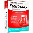 ELEKTROLITY /Do postepowania dietetycznego w biegunce,w ktorym uzupelnia elektrolity utracone podczas biegunki/smak truskawkowy