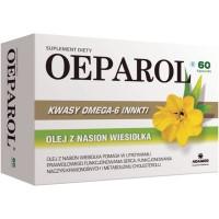 OEPAROL Kwasy omega-6, Olej z nasion wiesiolka / Prawidlowe funkcjonowanie serca,naczyn krwionosnych i metabolizmu cholesterolu