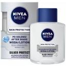 NIVEA  MEN Skin Protection // SILVER PROTECT woda po goleniu // odnowa i pielegnacja skory // antybakteryjna ochrona