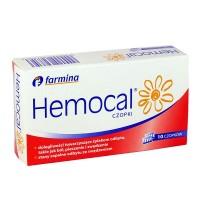 HEMOCAL 10 czopkow /Dolegliwosci towarzyszace zylakom odbytu,takie jak bol,pieczenie i swedzenie,stany zapalne odbytu