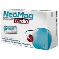 NEOMAG CARDIO // Magnez+B6+Glog+Potas // Prawidlowe krazenie krwi,utrzymanie prawidlowego cisnienia krwi //50 tabletek