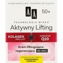 AA TW Aktywny Lifting 50+ // Krem liftingujaco-regenerujacy na noc // Kolagen pro-lift + Koenzym Q10