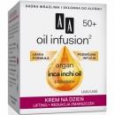 AA Oil infusion 50+ Krem na dzien lifting + redukcja zmarszczek