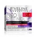 Eveline NEO RETINOL 45+/Ujedrnianie/ Napinajacy krem-ekspert przeciwzmarszczkowy/Dzien&noc/Potrojna sila nowego Retinolu Lox-Age