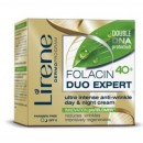 Lirene Folacin 40+ Duo Expert // Ultra intense anti-wrinkle day&night cream // SPF 6 / Paraben free
