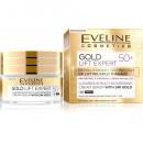 Eveline Gold Lift Expert 50+ / Luxurious multi-nourishing cream-serum with 24k gold / day&night/ Mature,dry and sensitive skin