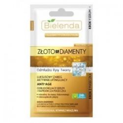 BIELENDA ZLOTO & DIAMENTY Odbudowujace serum + maseczka