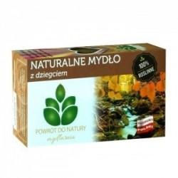 Naturalne MYDLO Z DZIEGCIEM // 100 % roslinne // Mydlarnia Powrot do natury