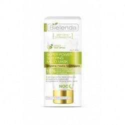 BIELENDA Skin clinic professional SUPER POWER SLEEPING MEZO MASK // Aktywna maska korygujaca na NOC