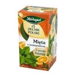 MIETA Z POMARANCZA herbata