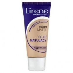 LIRENE NATURE MATTE Fluid Matujacy // 13 Cappuccino // Wzmocniona trwalosc