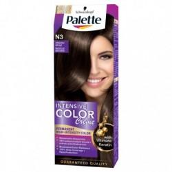 PALETTE INTENSIVE COLOR N3 Sredni Braz /Maksymalnie lsniacy kolor,100% pokrycia siwych wlosow