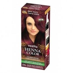VENITA Henna Color PIANKA KOLORYZUJACA 18 Czarna wisnia