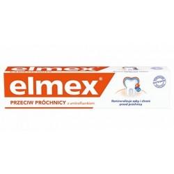 ELMEX-Pasta do zebow przeciw prochnicy z aminofluorkiem // Remineralizuje zeby i chroni przed prochnica
