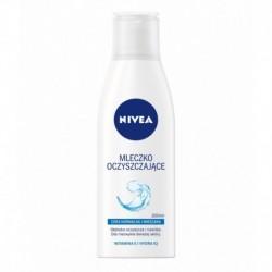 NIVEA  Mleczko oczyszczajace cera normalna i mieszana // witamina E i hydra IQ / Gleboko oczyszcza i nawilza