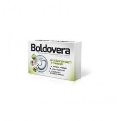 BOLDOVERA  //  W zaburzeniach trawienia, wzdecia,odbijania, lekkie skurczowe dolegliwosci zoladkowo-jelitowe, zaparcia