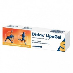 DICLAC LIPOGEL 50g // Liposomalny zel przeciwzapalny i przeciwbolowy // Zel do stosowania miejscowego