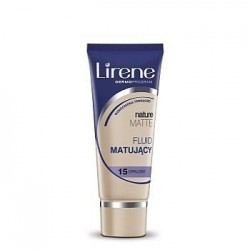 LIRENE NATURE MATTE Fluid Matujacy // 15 Opalony // Wzmocniona trwalosc