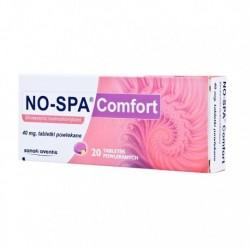 NO-SPA Comfort /Na  skurczowe bole brzucha w chorobach: dr.zolciowych,moczowych,zoladka i jelit,bolesnym miesiaczkowaniu