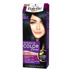 PALETTE INTENSIVE COLOR C1 Granatowa czern /Maksymalnie lsniacy kolor,doskonale pokrycie siwych wlosow+ochrona przed blaknieciem