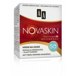 AA Novaskin Technologia mezobrazji / KREM NA DZIEN 50+/ Redukcja zmarszczek+elastycznosc / Aktywna odnowa naskorka