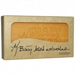 BIALY JELEN hipoalergiczne mydlo z ekstraktem z bursztynu
