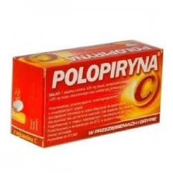 POLOPIRYNA C 10 tab musujacych z witamina C