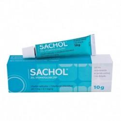 SACHOL - Zel stomatologiczny // Do stosowania w jamie ustnej i na dziasla // 10 g
