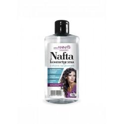 ANNA Nafta Kosmetyczna z olejkiem rycynowym /Do wlosow suchych,zniszczonych i lamliwych/Poprawia kondycje wlosow,przywraca blask