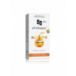 AA Oil infusion 40+ OLEJEK DO TWARZY // Argan, tsubaki oil / Formula 100% oil / Lekka formula,biozgodny
