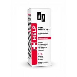 AA HELP Cera Atopowa Krem nawilzajacy bezzapachowy // 0% parabenow,barwnikow // Dermatologiczna pomoc